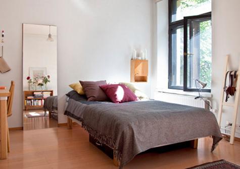 35平方米清新单身小公寓