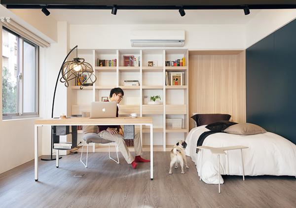 小空间的生活也可以很精彩!