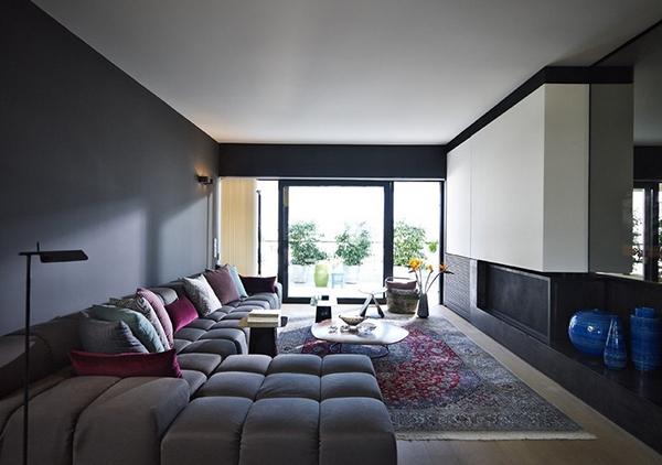 雅典小户型设计 值得欣赏的色彩搭配